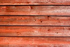 Free Red Wooden Boards Stock Photos - 13730633