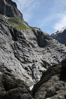 Free The Grindelwald Glacier Royalty Free Stock Photos - 13730708