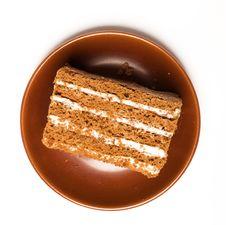 Free Sweet Honey Cake Royalty Free Stock Photo - 13731685