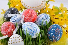 Free Czech Easter Eggs Stock Images - 13732194