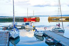 Free Avoch Harbor On The Black Isle. Stock Photos - 13732883