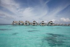 Free Water Villas Royalty Free Stock Photography - 13733047