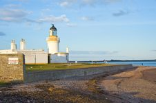 Free Lighthouse At Chanonry Point, Ross-shire. Royalty Free Stock Photo - 13733065