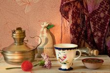 Free Morning Tea Royalty Free Stock Photos - 13733128