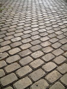 Stone Block Paving Background