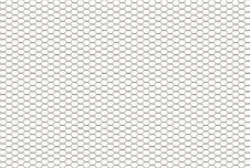 Free Background From Convex Hexagons. Royalty Free Stock Image - 13733766