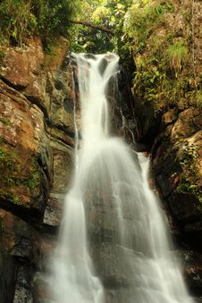 Free Silky La Mina Falls Stock Photography - 13734032