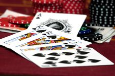 Free Royal Flush Stock Image - 13734561