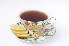 Free Cup Of Tea With Lemon Royalty Free Stock Photo - 13734855