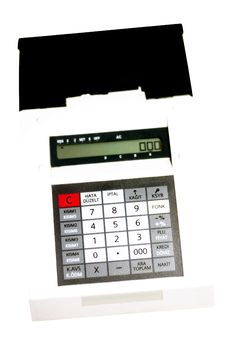 POS Machine Royalty Free Stock Photography