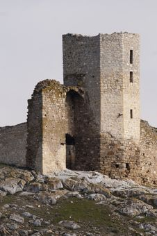 Free Tower Detail Of An Ancient Fortress Stock Photo - 13735100