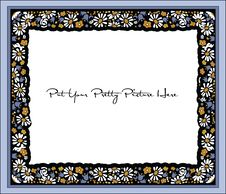 Free Old Fashioned Flower Frame Stock Photo - 13735760