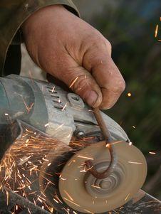 Free Tool  Electric  Cutting  Metal Stock Photo - 13736320