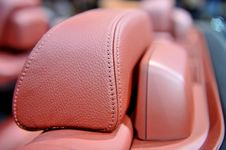 Free Red Car Seat Royalty Free Stock Photo - 13737095