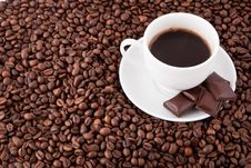 Free Cup Of Coffee Stock Image - 13737191