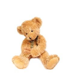 Free Teddy Bear With Pills Stock Photo - 13738170