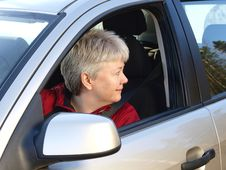 Free Woman Driving Stock Image - 13738701