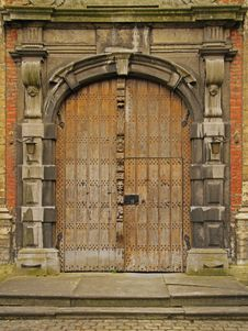 Free Church Doors Stock Image - 13739301