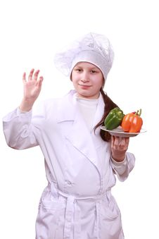 Free Young Chef Stock Image - 13739351