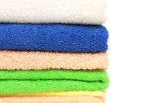 Free Multicolour Towels Royalty Free Stock Images - 13739479