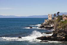 Italian Coast Royalty Free Stock Photography