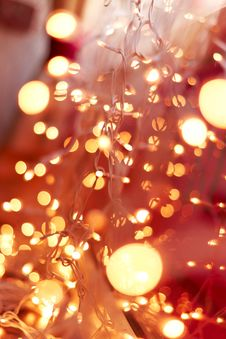 Free Abstract Background From The Set Of Bulbs Royalty Free Stock Photo - 13739745