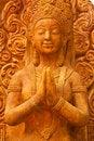 Free Thai Style Molding Art Stock Image - 13740931