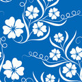 Free Blue Flower Background Stock Images - 13743304
