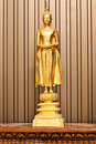 Free Golden Budha Hold An Alms Bowl Stock Image - 13747841