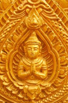 Free Thai Style Molding Art Royalty Free Stock Image - 13740376