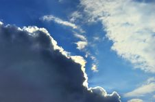 Free Sun In Clouds Royalty Free Stock Photography - 13740417