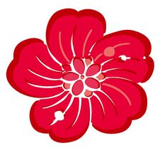 Free Red Flower Stock Image - 13740921