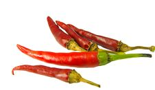 Free Red Hot Chili Peppers Stock Image - 13741571