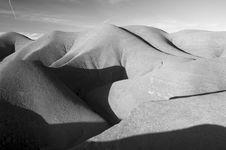 Free Desert Hills Royalty Free Stock Image - 13742076