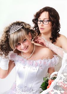 Free Wedding Portrait Royalty Free Stock Photo - 13742565