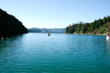 Free Marlborough Sound View. Royalty Free Stock Photos - 13742658