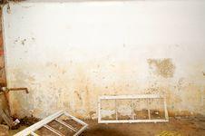 Free Ruined Room Royalty Free Stock Photo - 13743945