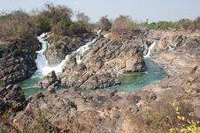 Free Mekong Waterfall Stock Photos - 13744343