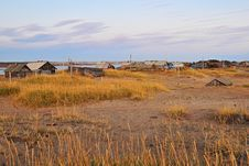 Free North Russian Village 1 Royalty Free Stock Photos - 13744458