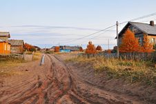 Free North Russian Village 2 Stock Images - 13744494