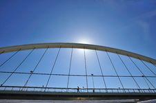 Free The Barqueta Bridge Of Seville Royalty Free Stock Photos - 13744508