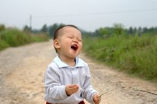 Free Laughing Baby Stock Photos - 13744543