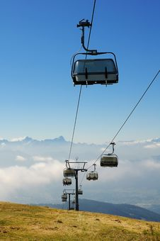 Free Chairlift Stock Photography - 13744582