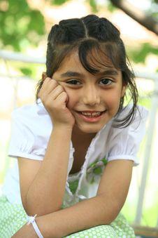 Free Little Girl Stock Image - 13744611