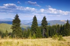 Free Summer Mountain Landscape Royalty Free Stock Photos - 13744718
