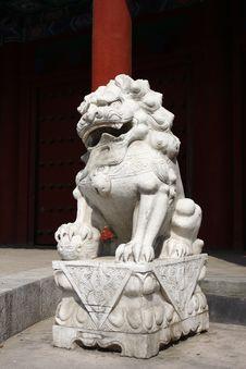 Free Stone Lion Stock Photos - 13744943