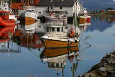 Free Norwegian Fjord Stock Photography - 13745192