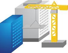 Free Vector Hoisting Crane Stock Image - 13745291