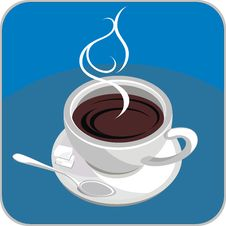 Free Hot Coffee Or Tea Royalty Free Stock Photography - 13745307