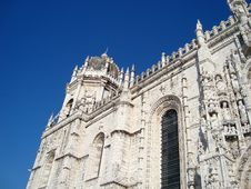 Free Jeronimos Monastery Royalty Free Stock Photography - 13745437